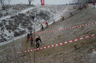 Cyclocross Wahnsinn in Wien: ÖM in der Löwygrube am Laaer Berg